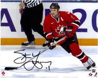 Steve Yzerman Autographed Team Canada 8x10 Photo