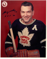 Harry Watson Autographed Toronto Maple Leafs 8x10 Photo #3