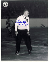 Red Storey Autographed Hockey Hall of Fame 8x10 Photo