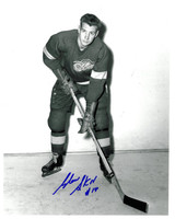 Glen Skov Autographed Detroit Red Wings 8x10 Photo