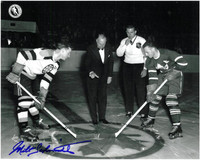 Milt Schmidt Autographed Boston Bruins 8x10 Photo #6