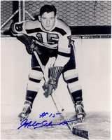 Milt Schmidt Autographed Boston Bruins 8x10 Photo #3