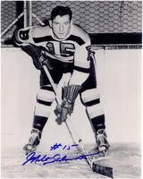 Milt Schmidt Autographed Boston Bruins 8x10 Photo #3
