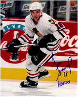 Denis Savard Autographed Chicago Blackhawks 8x10 Photo #4