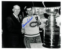 "Maurice ""Rocket"" Richard Autographed Montreal Canadiens 8x10 Photo #3"