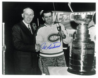 "Maurice ""Rocket"" Richard Autographed Montreal Canadiens 8x10 Photo #2"