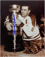 "Maurice ""Rocket"" Richard Autographed Montreal Canadiens 8x10 Photo #1"