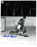 Chuck Rayner Autographed New York Rangers 8x10 Photo