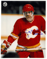 Lanny McDonald Autographed Calgary Flames 8x10 Photo #3