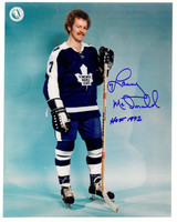 Lanny McDonald Autographed Toronto Maple Leafs 8x10 Photo #2