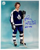 Lanny McDonald Autographed Toronto Maple Leafs 8x10 Photo #2