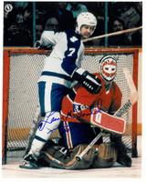 Lanny McDonald Autographed Toronto Maple Leafs 8x10 Photo #1