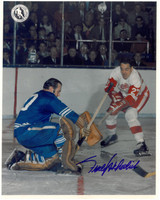 Frank Mahovlich Autographed Detroit Red Wings 8x10 Photo