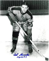 Carl Liscombe Autographed Indianapolis Capitals 8x10 Photo #3