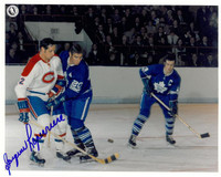 Jacques Laperrière Autographed Montreal Canadiens 8x10 Photo