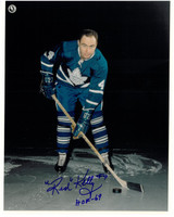 Red Kelly Autographed Toronto Maple Leafs 8x10 Photo #6
