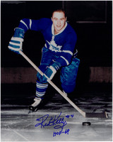 Red Kelly Autographed Toronto Maple Leafs 8x10 Photo #3