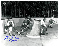 Tom Johnson Autographed Montreal Canadiens 8x10 Photo #2