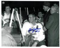 Tom Johnson Autographed Montreal Canadiens 8x10 Photo #1
