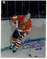 Bobby Hull Autographed Chicago Blackhawks 8x10 Photo #3
