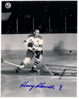 Harry Howell Autographed New York Rangers 8x10 Photo #5