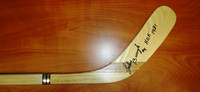 Johnny Bucyk Autographed Northland Hockey Stick