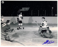 Glenn Hall Autographed Chicago Blackhawks 8x10 Photo #3