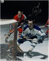 Ron Ellis Autographed Toronto Maple Leafs 8x10 Photo #1
