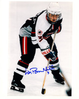 Lisa Brown-Miller Autographed Team USA 8x10 Photo