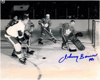 Johnny Bower Autographed Toronto Maple Leafs 8x10 Photo #13