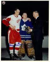 Johnny Bower Autographed Toronto Maple Leafs 8x10 Photo #2