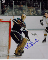 Johnny Bower Autographed Toronto Maple Leafs 8x10 Photo #1
