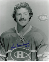 Pierre Bouchard Autographed Montreal Canadiens 8x10 Photo #1