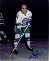 Bobby Baun Autographed Oakland Seals 8x10 Photo #2