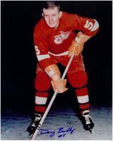 Doug Barkley Autographed Detroit Red Wings 8x10 Photo