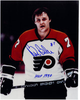Bill Barber Autographed Philadelphia Flyers 8x10 Photo #1