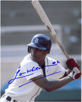 Lou Whitaker Autographed Detroit Tigers 8x10 Photo #3