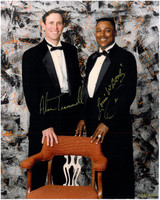 Alan Trammell and Lou Whitaker Autographed Detroit Tigers 8x10 Photo #2