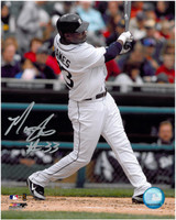 Marcus Thames Autographed Detroit Tigers 8x10 Photo #1