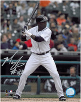 Marcus Thames Autographed Detroit Tigers 8x10 Photo #2