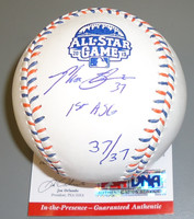 Max Scherzer Autographed Official 2013 All Star Baseball - Inscribed Ltd Edition of 37