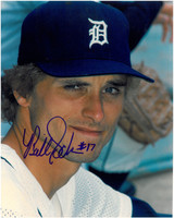 Bill Scherrer Autographed Detroit Tigers 8x10 Photo #1