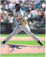 Fernando Rodney Autographed Detroit Tigers 8x10 Photo #3