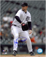 Nate Robertson Autographed Detroit Tigers 8x10 Photo #1