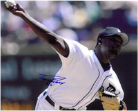 Fernando Rodney Autographed Detroit Tigers 8x10 Photo #1