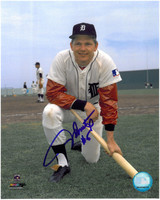 Jim Northrup Autographed Detroit Tigers 8x10 Photo #2 - 1960s Home