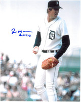 Roger Mason Autographed Detroit Tigers 8x10 Photo #1
