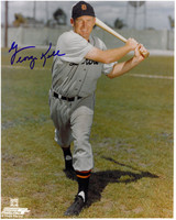 George Kell Autographed Detroit Tigers 8x10 Photo #9