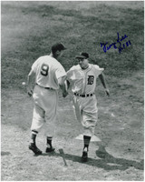 George Kell Autographed Detroit Tigers 8x10 Photo #6