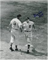 George Kell Autographed Detroit Tigers 8x10 Photo #6